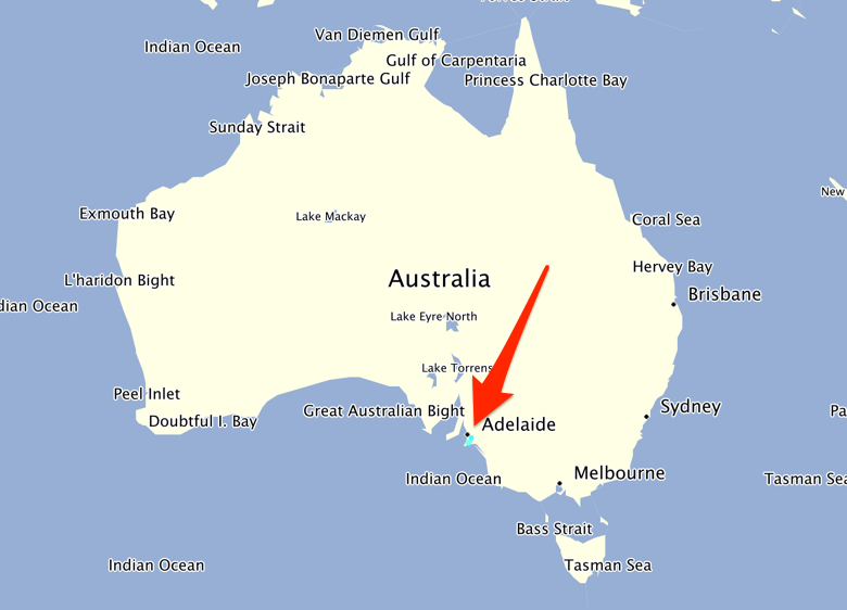 Map Of Adelaide Australia.Adelaide Map In Australia Twitterleesclub